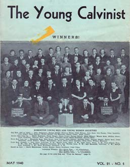 1940 Young Calvinist Winners