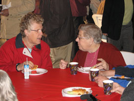 100th Anniversary Celebration - table fellowship