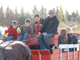 100th Anniversary Celebration - Horse and Wagon Rides