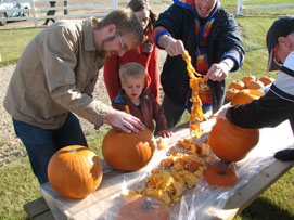 100th Anniversary Celebration - Pumpkin Carving
